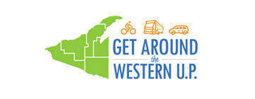 Get Around the Western U.P. Logo